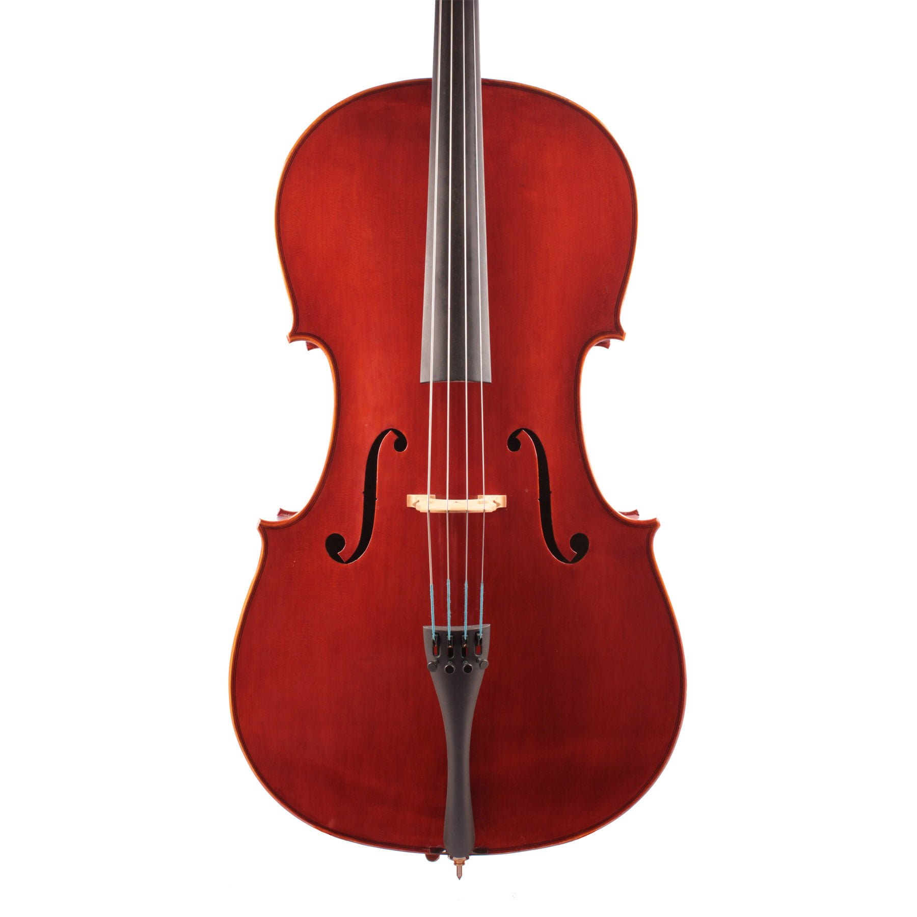 The front view of a Jay Haide Plain Cello
