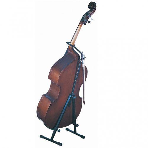 Kinsman double bass stand holding a double bass