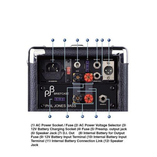 Briefcase Rear Panel