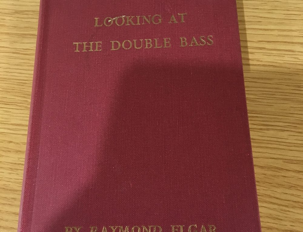 Looking at the Double Bass by Raymond Elgar
