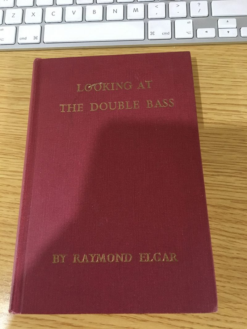 Looking at the Double Bass Book