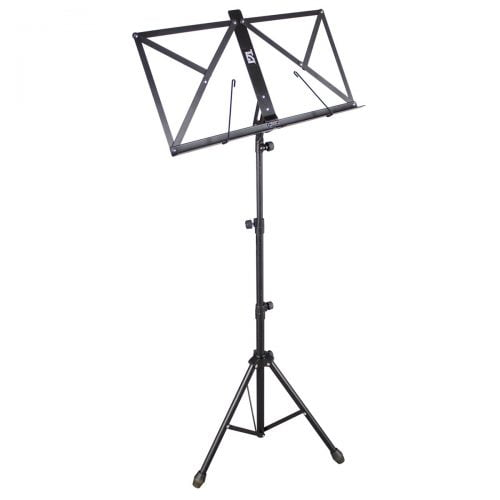 TGI Music Stand In Bag Black ms20bk