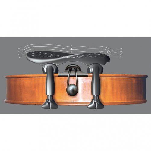 Wittner Chin Rest Violin - Augsburg 1/2 - 1/4 Adjustable Fitted