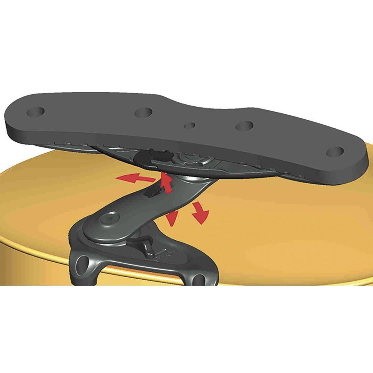Wittner Violin Shoulder Rest Isny for Wittner Clamps 1/2 - 1/4