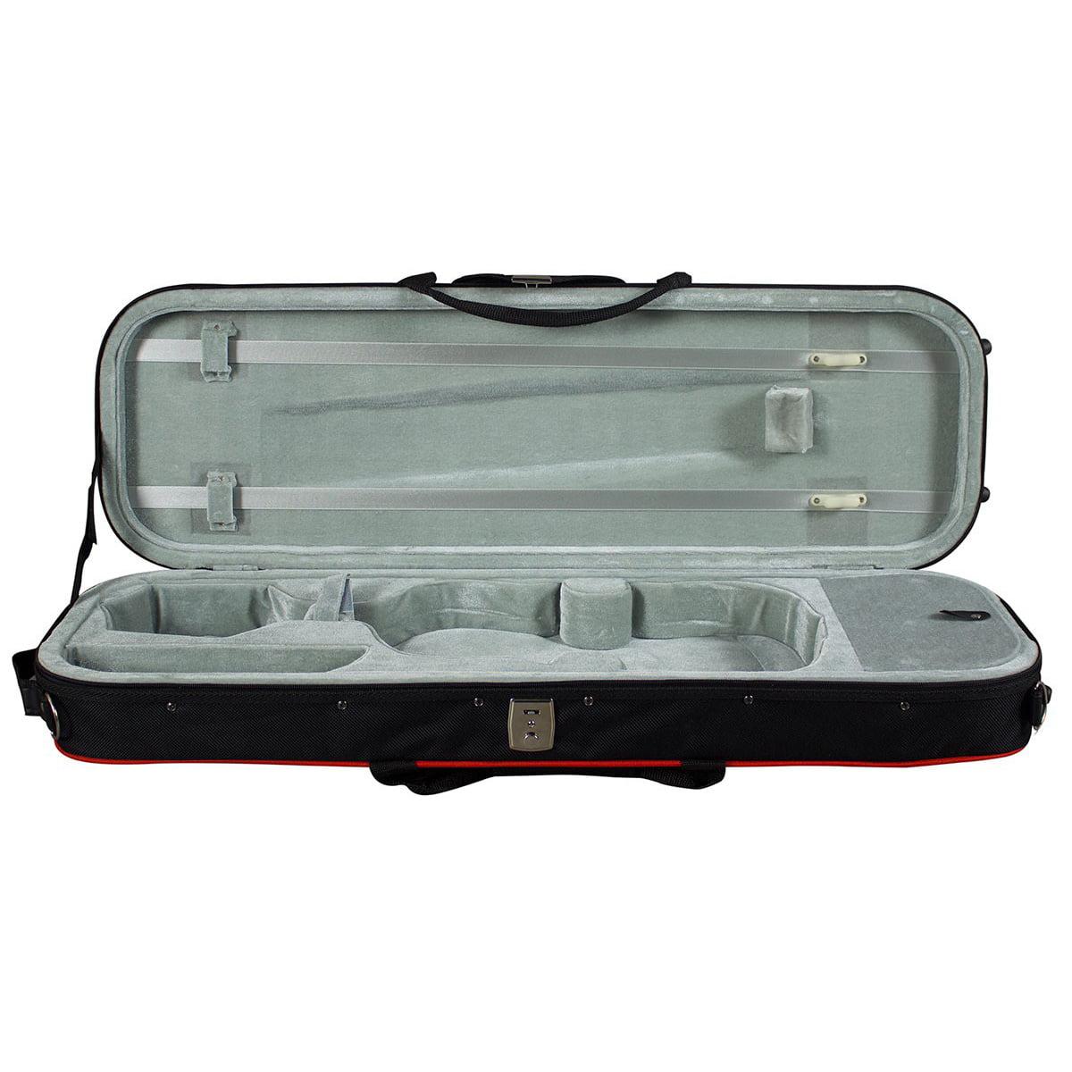 Hidersine Violin HVC Styrofoam Case open