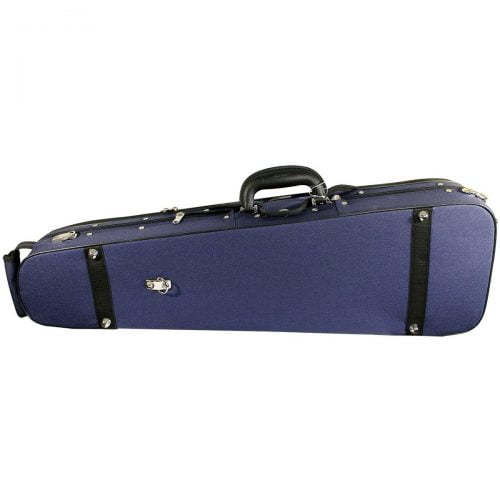 Hidersine Case Violin Shaped. Wood Shell vc103 exterior