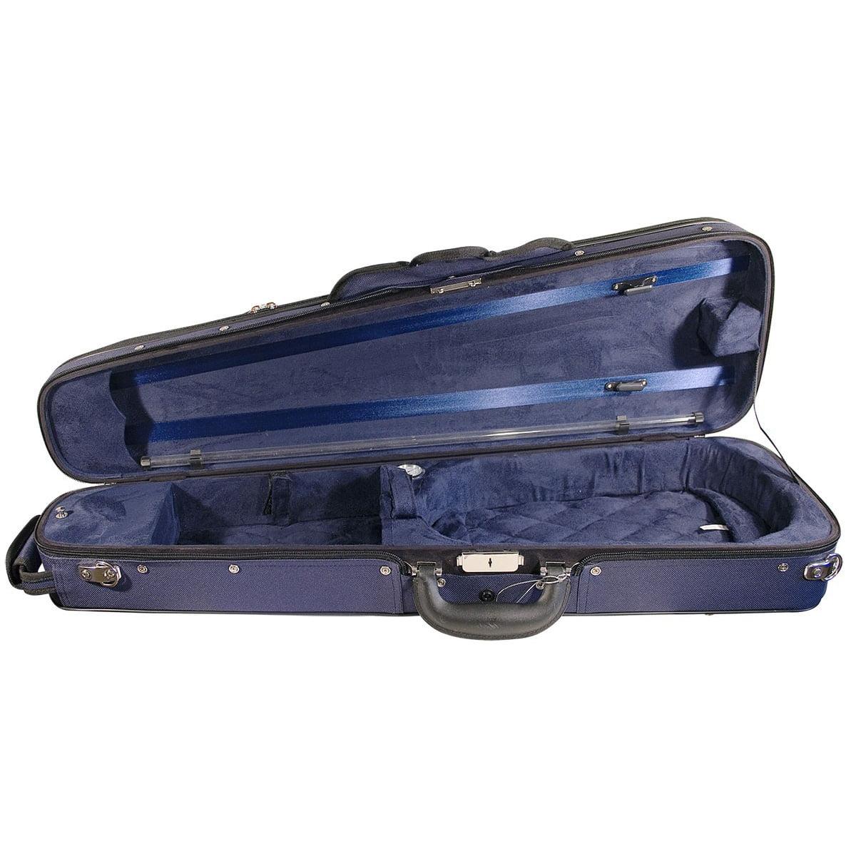 Hidersine Case Violin Shaped. Wood Shell vc103 interior