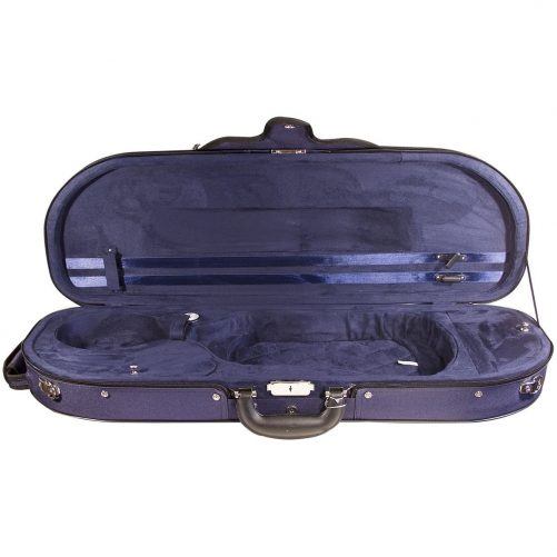 Hidersine Case Violin Super Light D-Shaped VC105