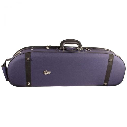 Hidersine Case Violin Super Light D-Shaped vc105_side