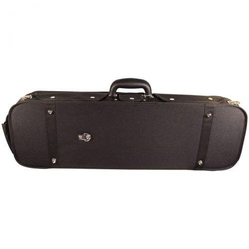 Hidersine Oblong Wooden Shell Violin Case VC106 Side
