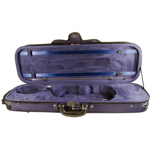 Hidersine Case Violin Super Light Oblong vc107 interior