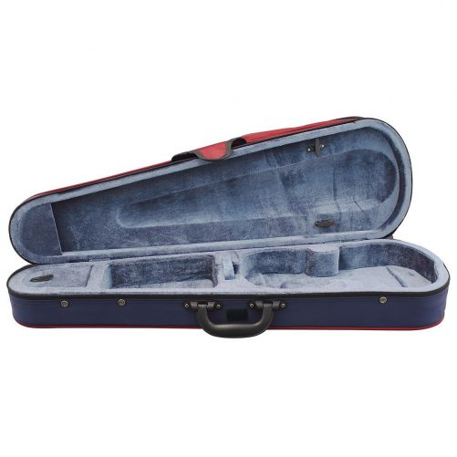 Hidersine Case Violin Shaped Case 4/4 vc10a open