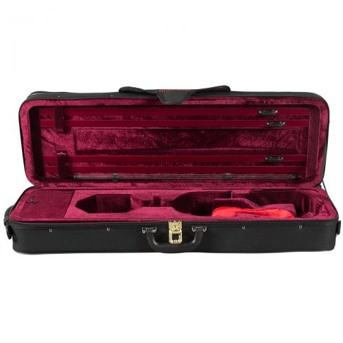 Hidersine Case VC97 Violin Oblong Suspension Case Open