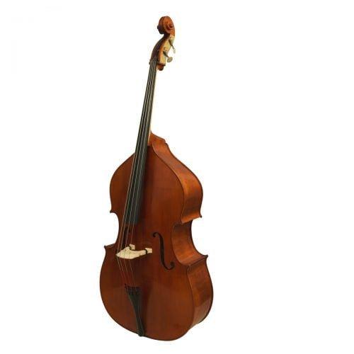 Eastman VB200 Jazz Bass Violin Shape Angle Right