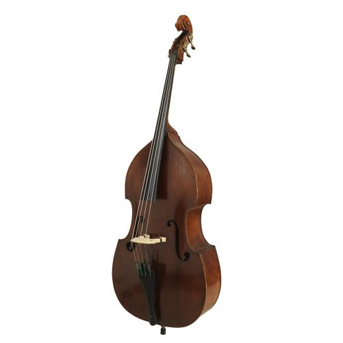 German Swell Back 3/4 Double Bass C.1900