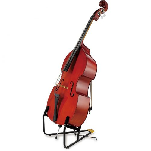 Double Bass in Hercules Stand DS590B