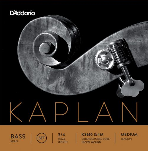 Kaplan Double Bass Solo Set of Strings 3/4 Medium Tension