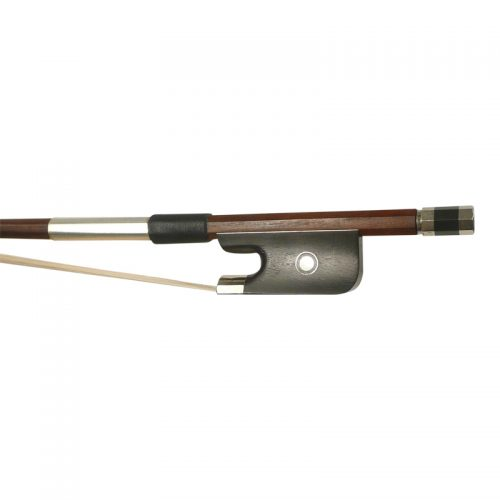 Double Bass Bow French Pattern Frog