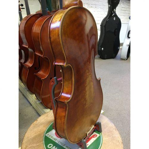 Jay Haide L'Ancienne Stradivari Violin Angle Back
