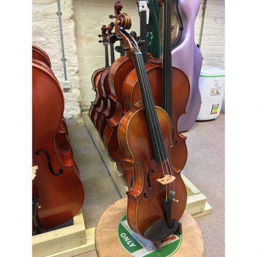Jay Haide L'Ancienne Stradivari Violin Angle Front