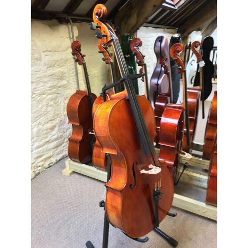 Jay Haide Vuillame Cello Angle
