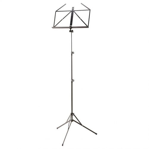 K&M Tall Music Stand Baseline Black 10052