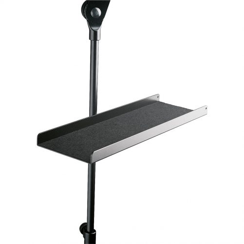 K&M Music Stand Tray Black 12218