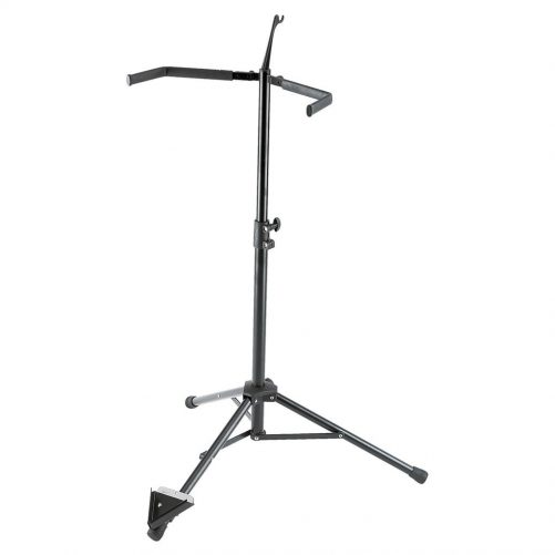 K&M Double Bass Stand Black 14100