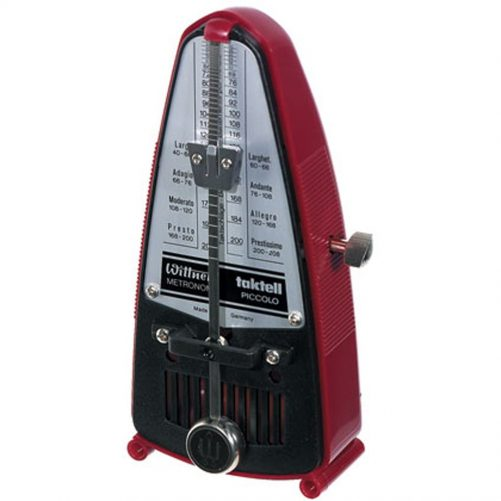 Wittner Metronome. Taktell Piccolo. Red Ruby 1628R