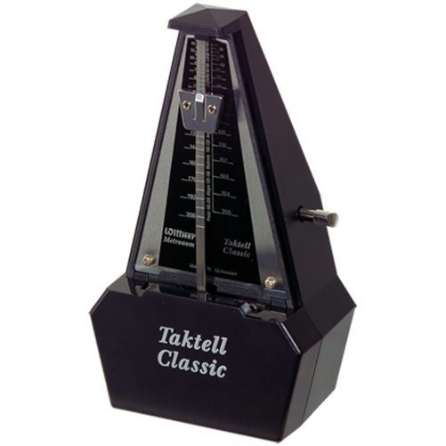 Wittner Metronome. Taktell Classic. Black/Silver 2184