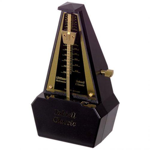Wittner Metronome. Taktell Classic. Black/Gold 2186