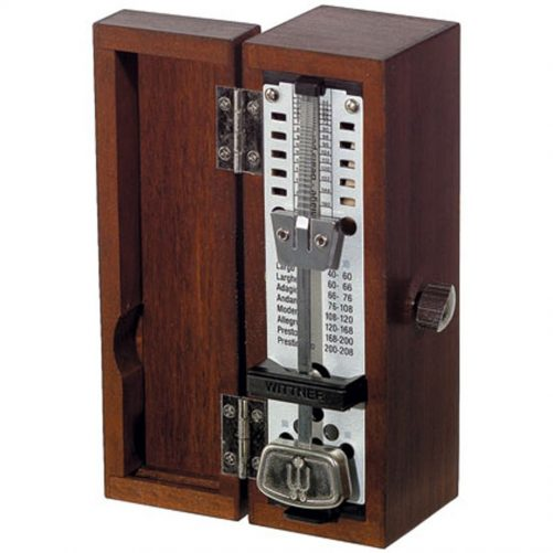 Wittner Metronome. Taktell Super Mini. Wooden. Mahogany 2207M