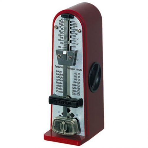 Wittner Metronome. Taktell Piccolino. Ruby Red 2210R