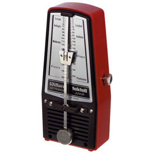 Wittner Metronome. Taktell Junior. Ruby Red 2628R