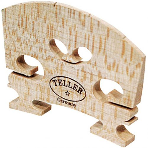 Violin Bridge - Aubert Model. Shaped and Fitted. 1/8 846E
