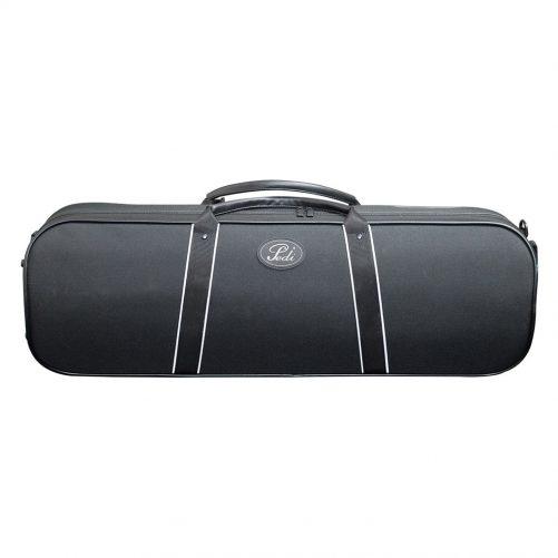 Pedi 16100 Night Stripe Series Case Violin - Black 9110BK