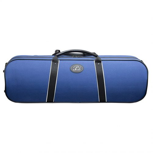 Pedi 16100 Night Stripe Series Case Violin - Blue 9110BL