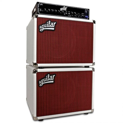 Aguilar Speaker Cabinet DB Series 4x12 - 4 ohm - White Hot DB412WH4