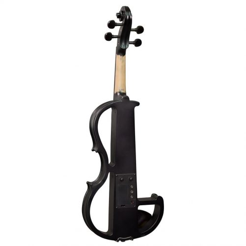 Hidersine Electric Violin Outfit - Black Satin Finish HEV1