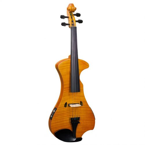 Hidersine Electric Violin Outfit - Flamed Maple Veneer HEV2