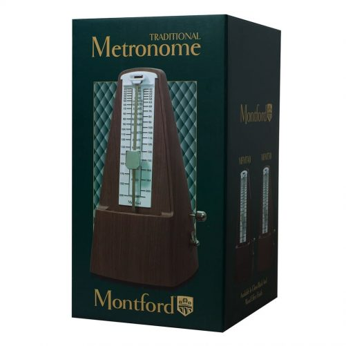 Montford Metronome Pyramid - Gloss Black Finish MFMT40