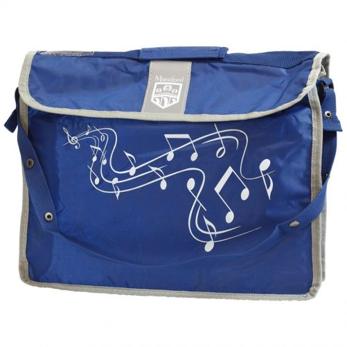 Montford Music Carrier Plus Blue MFMC2BL