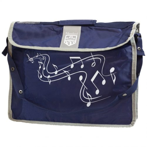 Montford Music Carrier Plus Navy MFMC2N