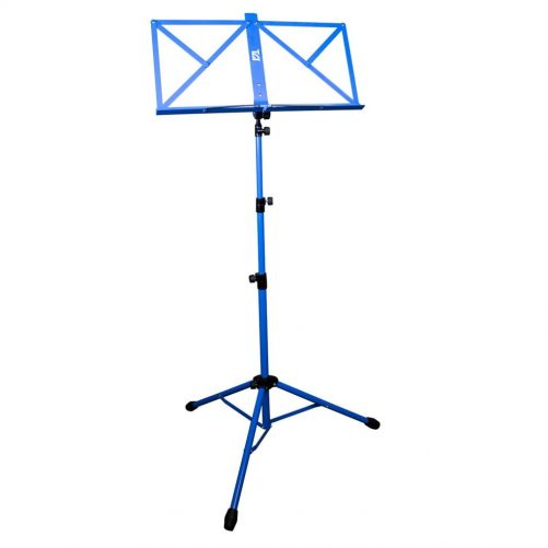 TGI Music Stand in Bag. Blue MS20BL