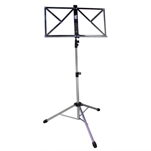 TGI Music Stand in Bag. Chrome MS20CR