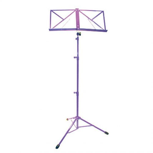 TGI Music Stand in Bag. Purple MS20P