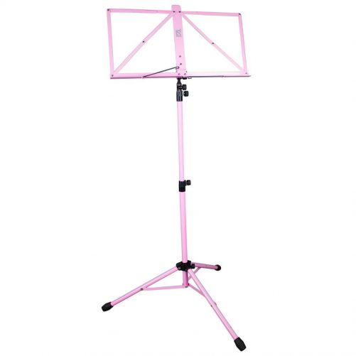 TGI Music Stand in Bag. Pink MS20PK