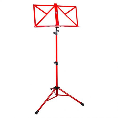 TGI Music Stand in Bag. Red MS20R