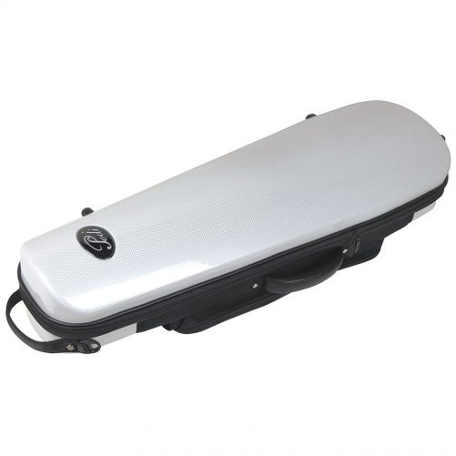 Pedi Case Violin Steelshield White P320VWH