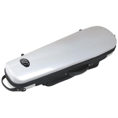 Pedi Case Violin Steelshield White P320VWH
